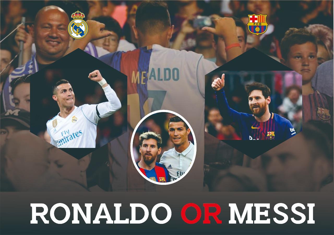 Persaingan Cristiano Ronaldo dan Lionel Messi