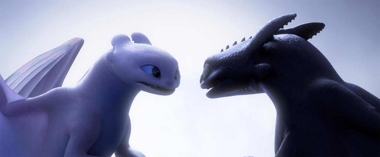 Night Furry yang menggemaskan dalam How To Train Your Dragon: The Hidden World