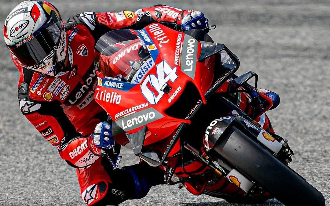 Kemenangan Ke-50 Ducati Setelah Andrea Dovizioso Raih Podium Utama