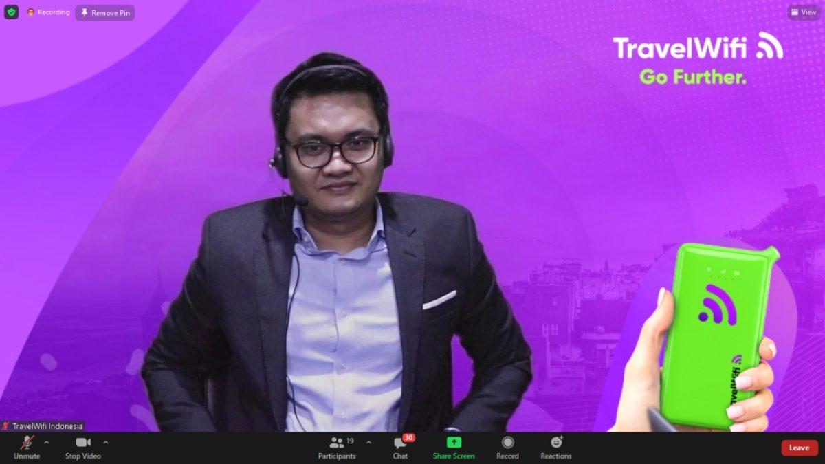 TravelWifi Brand Global  Ramaikan Perhelatan Industri Internet di Indonesia