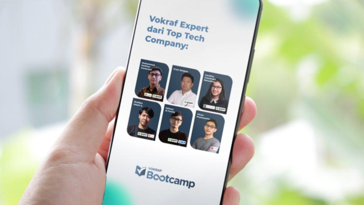 Jembatani Talenta Muda Untuk Berkarir di Industri, Vokraf Luncurkan Bootcamp