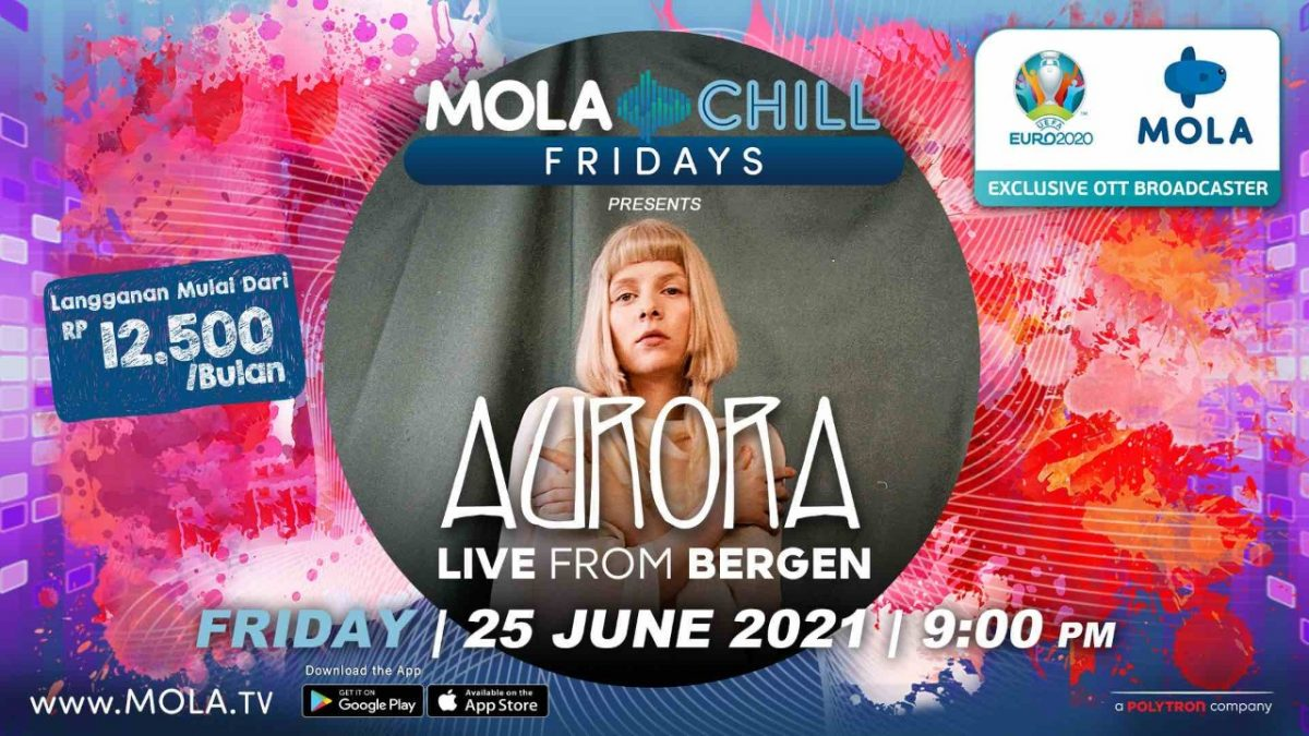 Mola Chill Fridays Pertemukan Musisi 2 Benua Aurora dan Wake Up Iris!