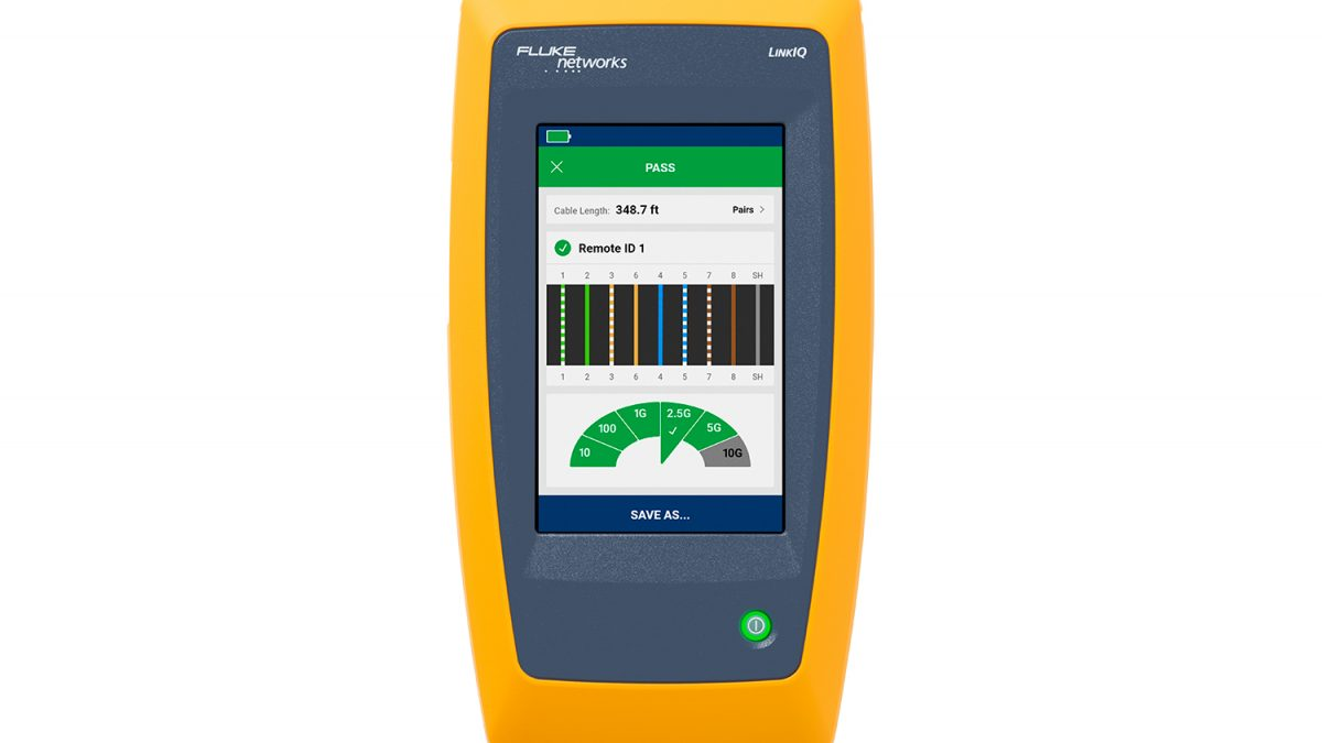 LinkIQ™ Alat Uji Pertama yang Gabungkan Teknologi Kinerja Kabel Fluke Networks dengan Diagnostik Switch